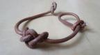 Bracelet en cuir minimaliste