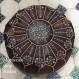 Leather poufs,dark ottoman for ottoman luxury, moroccan interior decoration