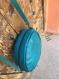 Petit sac, rondes en sac, sac à bandoulière brun, sac en cuir souple, petit porte-monnaie en cuir, sac à main en cuir souple, sac en cuir