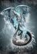 Winter dragon, impression sur toiles, 60 x 75 cm