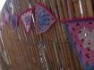 Guirlande fanions crochet fille