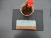 Trousse/ pochette à fleurs