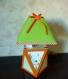 Lampe pour chambre d'enfant orange et verte