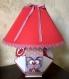 Lampe pour chambre d'enfant thème animaux
