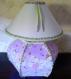 Lampe boule thème fées pour chambre de petite fille