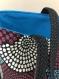 Sac cabas motif ronds colorés
