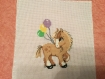 Broderie mon copain le poney