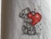 Petit ours avec son coeur