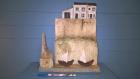 La petite maison en haut de la falaise