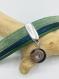 Bracelet femme cuir vert et bleu à pression interchangeable