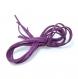 1 métre de suédine violette à paillettes