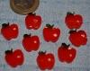 Lot de 10 pommes rouge creation maison résine