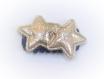 Barrette anti glisse  pour bébé ou petite fille étoiles dorées