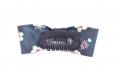 Barrette anti glisse pour bébé ou petite fille nœud liberty bleu / vert