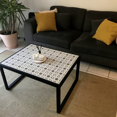 Table basse en céramique