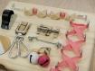 Busy board - montessori - tableau d'activités sensorielles