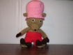 Amigurimi tony chopper, doudou...décoration ou jouet fait main au crochet.