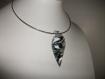 Collier avec pendentif verre de murano