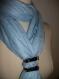 Pashmina bleu