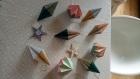 Lot de 6 suspensions pour sapin n origami