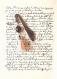 Marque pages précieux en hématite brodée