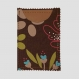 Porte carte chocolat (carte bleue, carte vitale, cartes magasins...) 100% coton