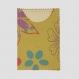 Porte carte citron (carte bleue, carte vitale, cartes magasins...) 100% coton