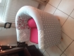 Fauteuil club patchwork
