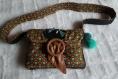 Sac artisan pièce unique marque sac bandoulière original cadeau
