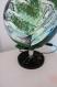 Mappemonde objet de décoration lampe maquette artisan fait main tableau peinture collage art moderne toile cadeau