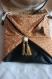 Sac pochette artisan pièce unique cuir original fait main