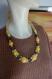 Collier pièce unique collier de perles tissu wax collier long tendance accessoir indispensable cadeau