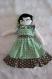 Poupée de chiffon première poupée pièce unique fait main poupée artiste jouet fille tissu wax original cadeau