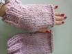 Mitaines en laine  fait main