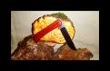 Couteau pliant en bois de padouk