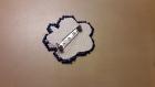Badge fleur d'hibicus