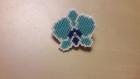 Badge orchidée