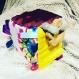 Cube d'éveil en tissus