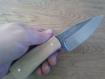 Couteau fixe forgé pièce unique