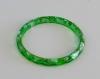 Bracelet résine 62mm vert