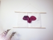 Tissage mural heartbeats