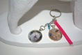 Porte clés / bijoux de sac