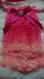 jabot en dentelles rose dégradé