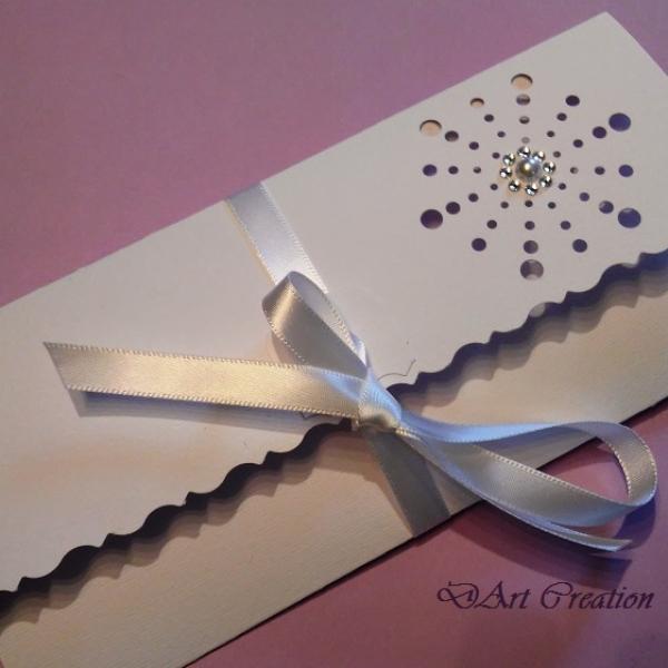 Pochette Enveloppe Elégante Pour Chèque Cadeau Carte Cadeau