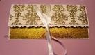 Pochette-enveloppe elégante pour chèque cadeau, carte-cadeau de mariage, cadeau argent (porte-monnaie) de mariage