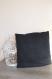 Housse de coussin - pillow cover - simili cuir 40x40 cm