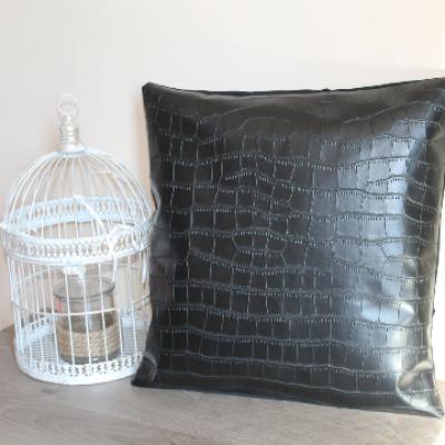 Housse de coussin noir / pillow cover