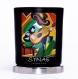Bougie artisanale parfumée en cire naturelle - le charmeur à la guitare