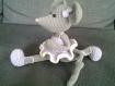 Souris au crochet pour décoration petits et grands