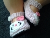Chaussons laine bébé